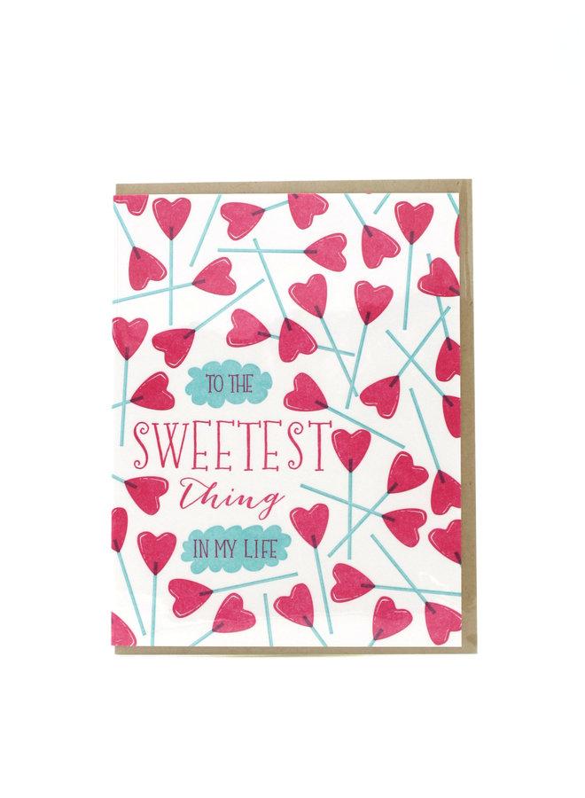 Sweetest Thing Elum Greeting Card