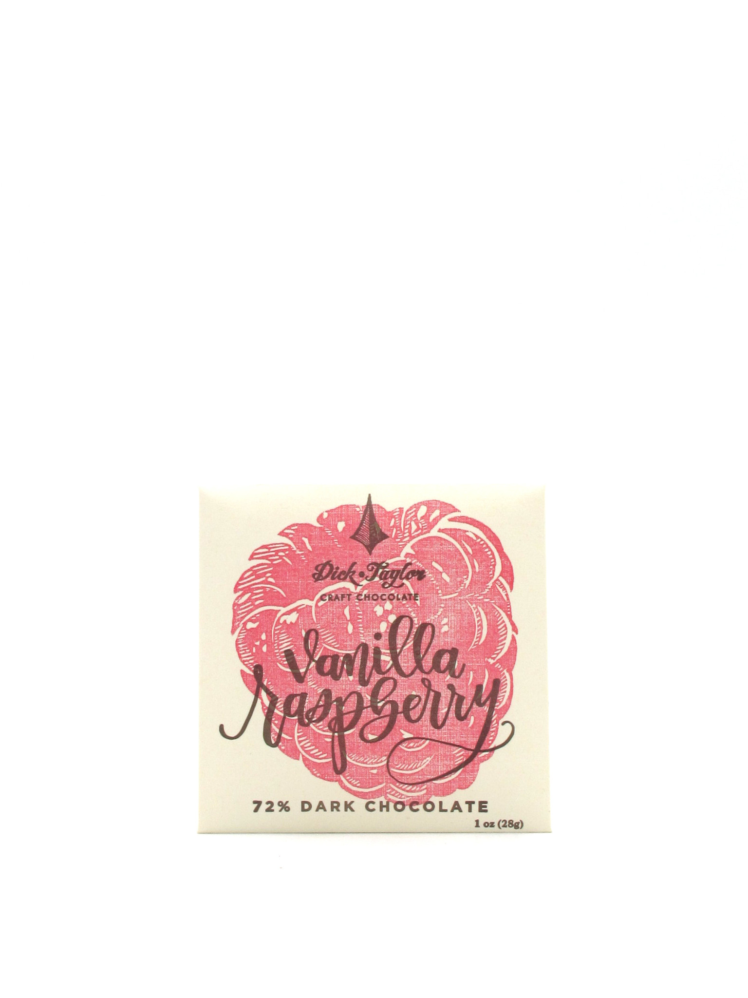 Dick Taylor Craft Chocolate Dick Taylor Vanilla Raspberry 72% Dark Chocolate 1oz