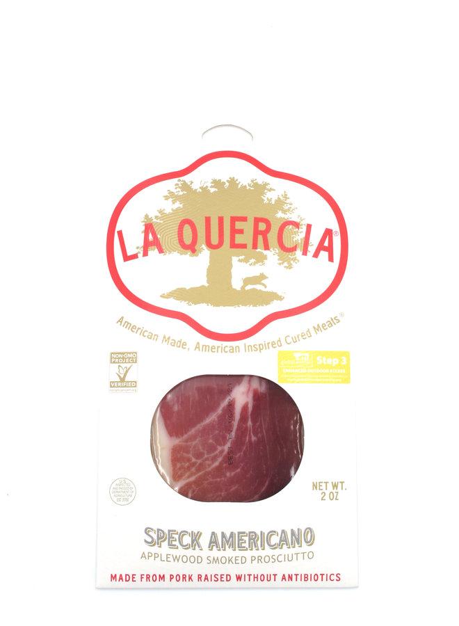 La Quercia Sliced Speck Americano 2oz