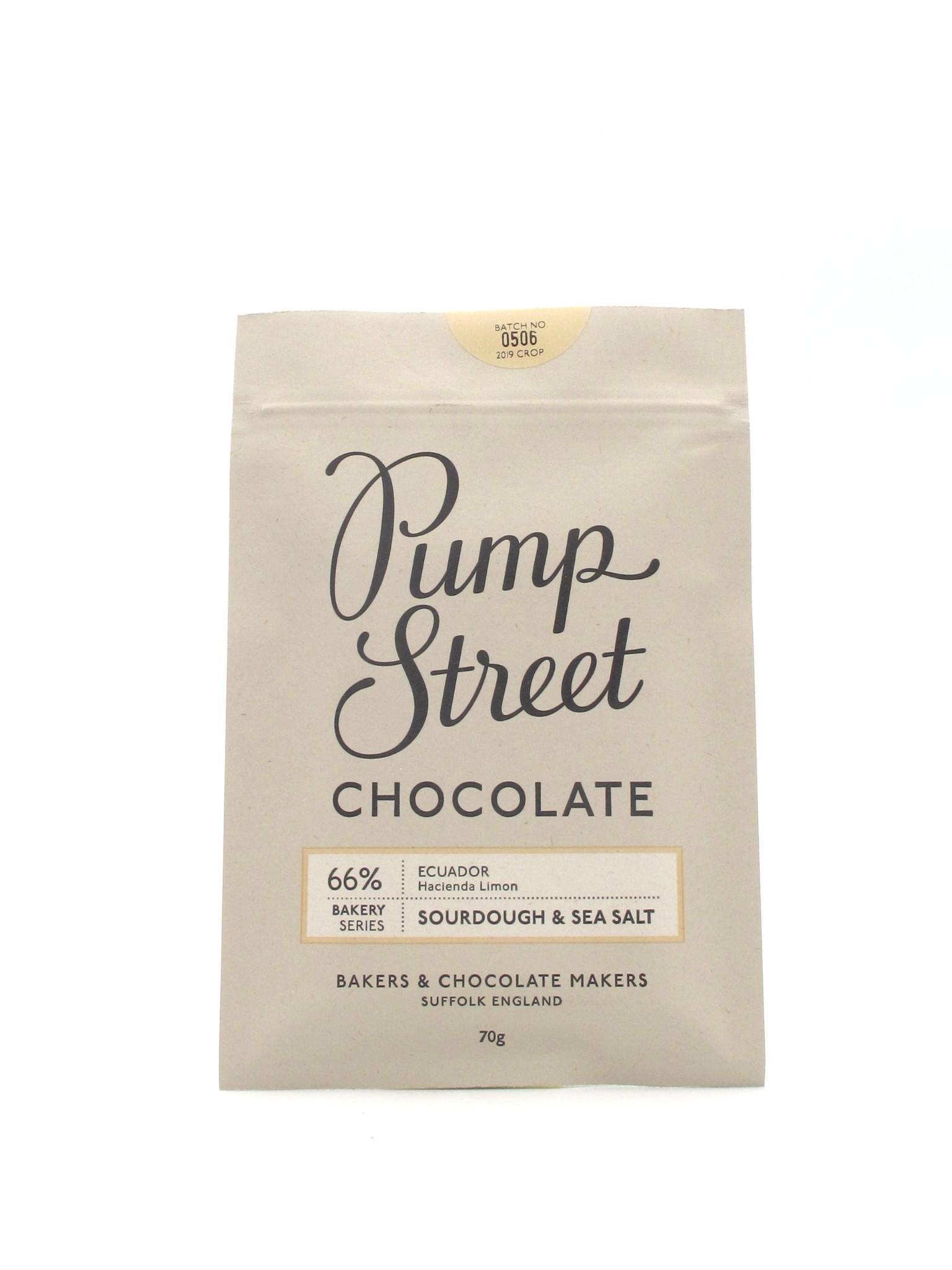 Pump Street Pump Street Sourdough + Sea Salt Chocolate 70g