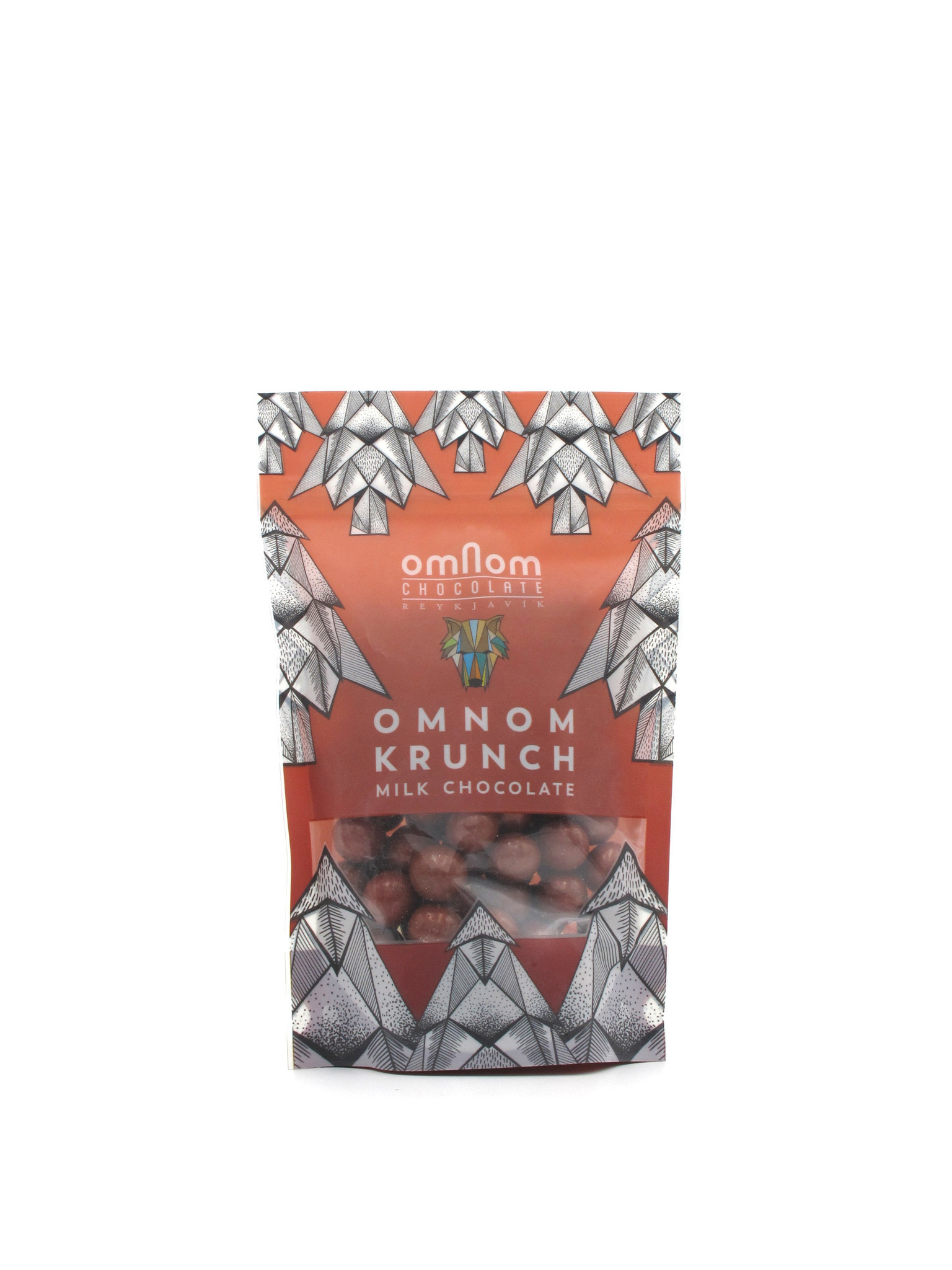 OmNom OmNom Milk Chocolate Krunch 120g