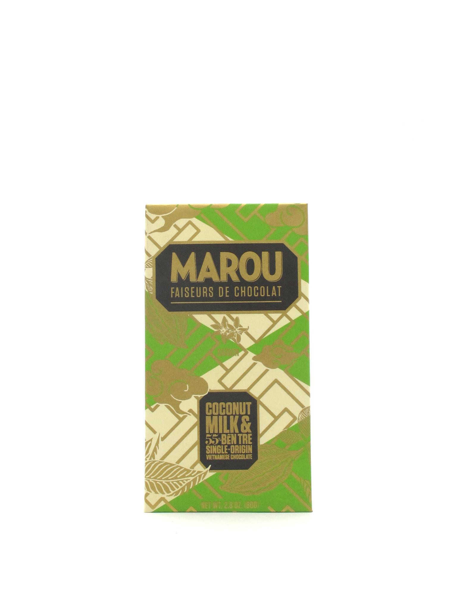 Marou Chocolate Marou Chocolate Coconut Milk & Ben Tre 80g
