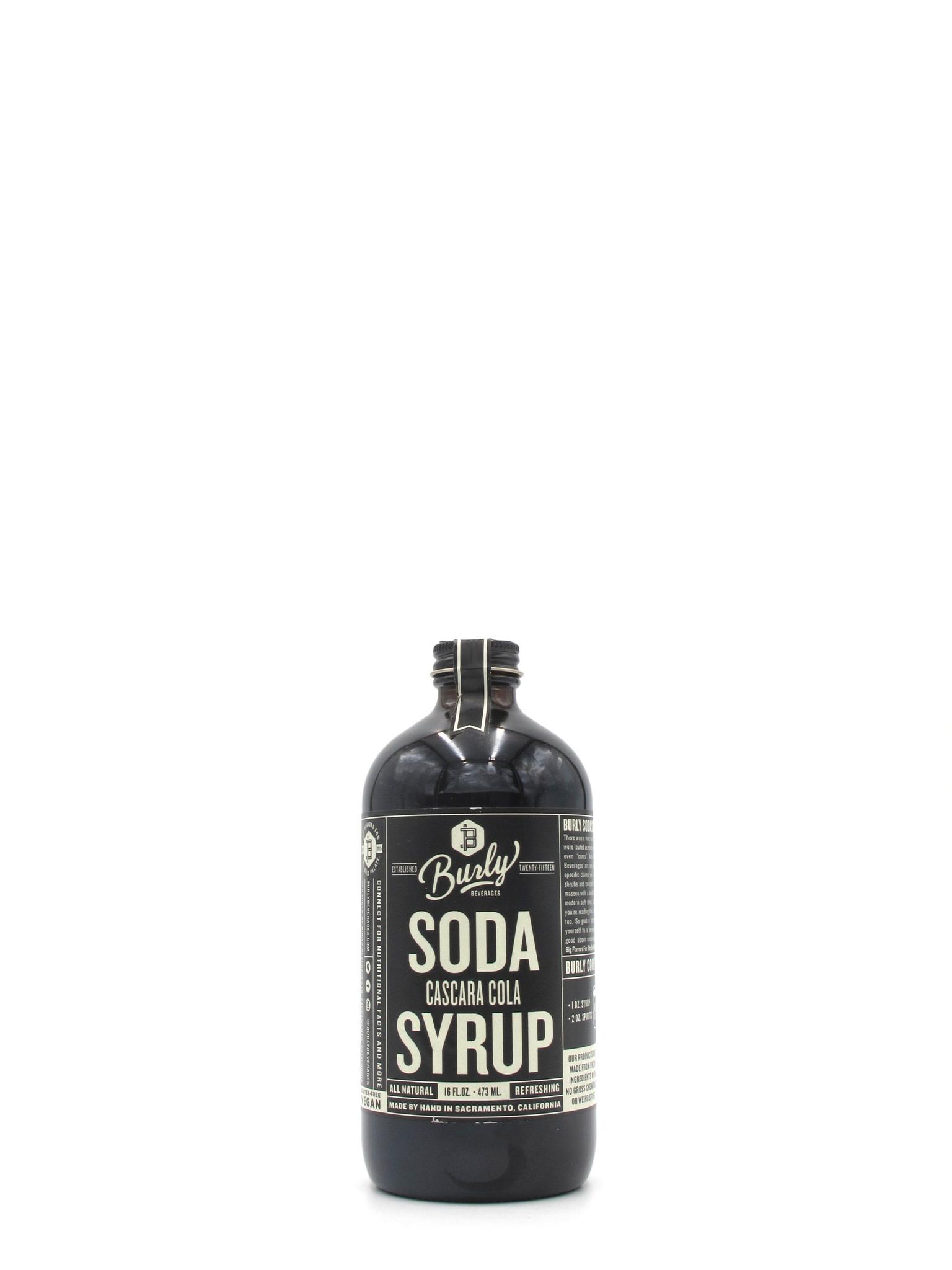 Burly Beverage Burly Cascara Cola Syrup 16oz