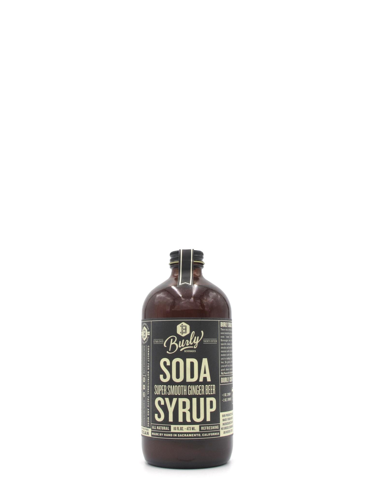 Burly Beverage Burly Smooth Ginger Syrup 16oz