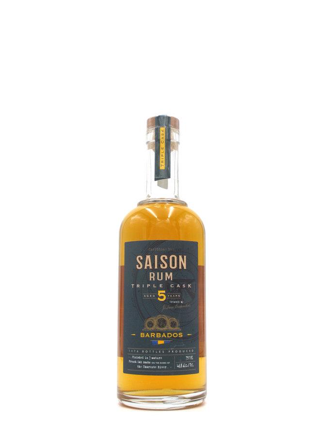 Saison Rum Triple Cask 5yr Barbados 750ml