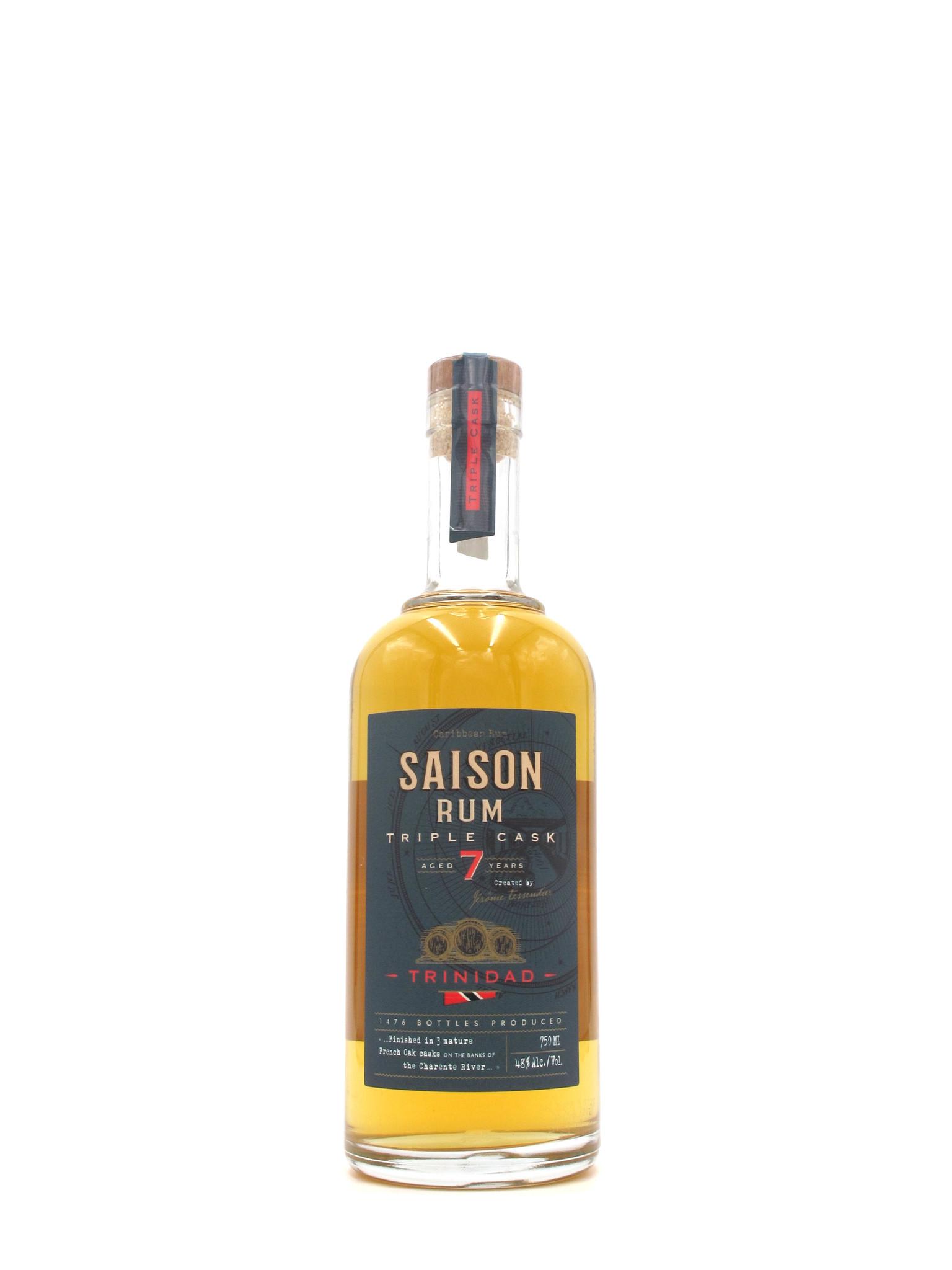Saison Rum Saison Rum Triple Cask 7yr Trinidad 750ml