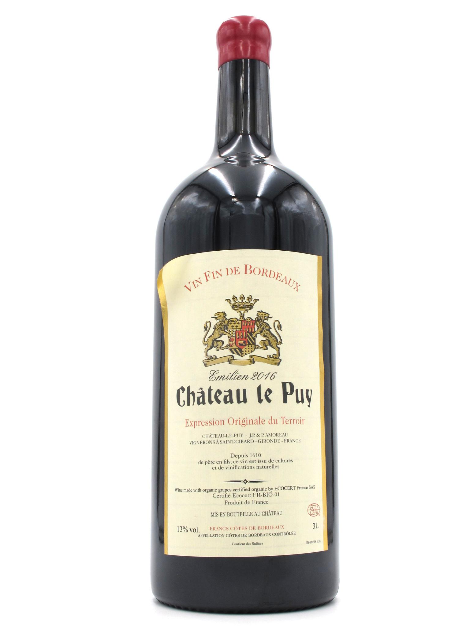 Château le Puy 2016 Château le Puy 'Emilien' 3000ml