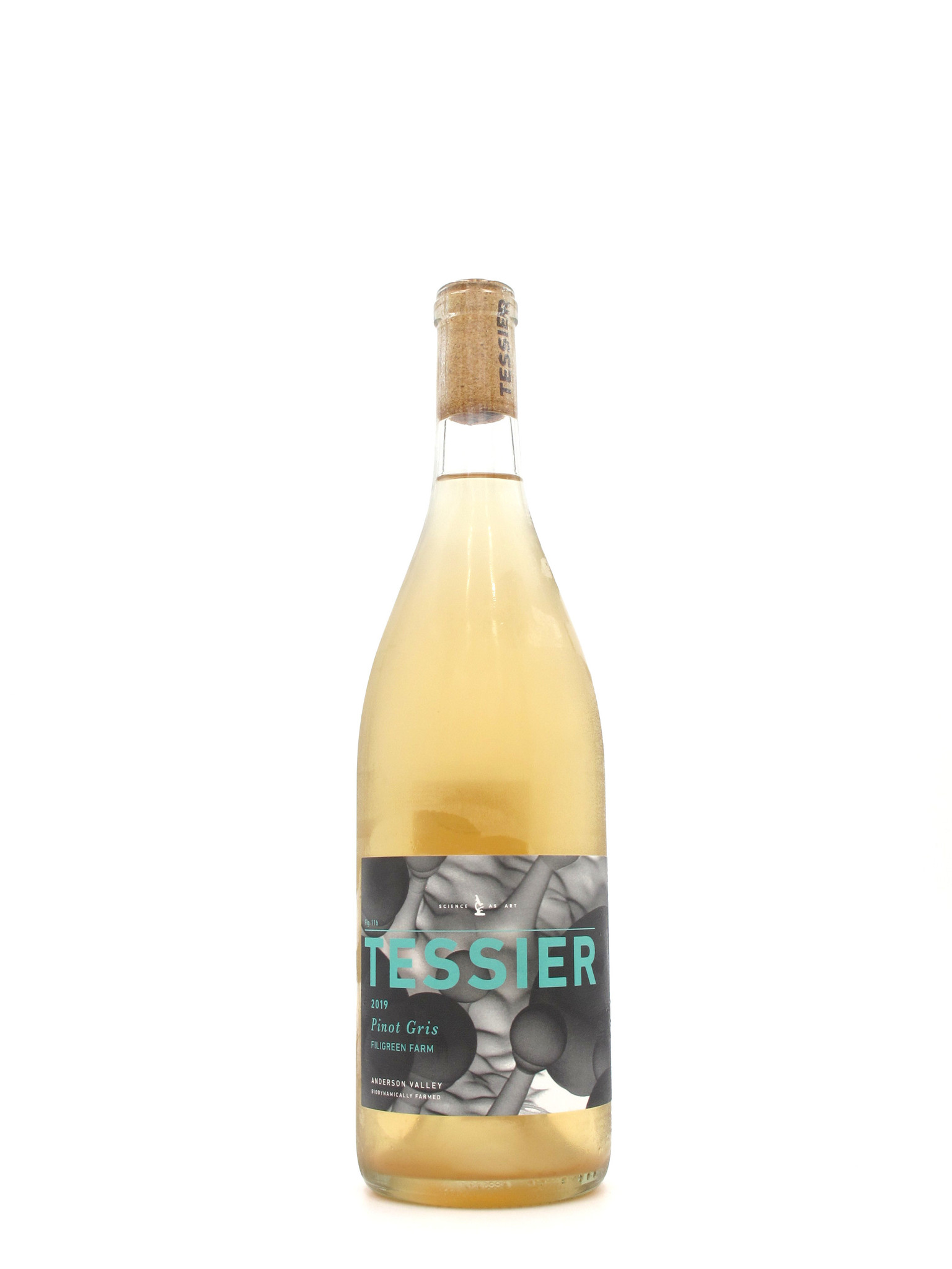 Tessier 2019 Tessier Winery Filigreen Farm Anderson Valley Pinot Gris 750ml