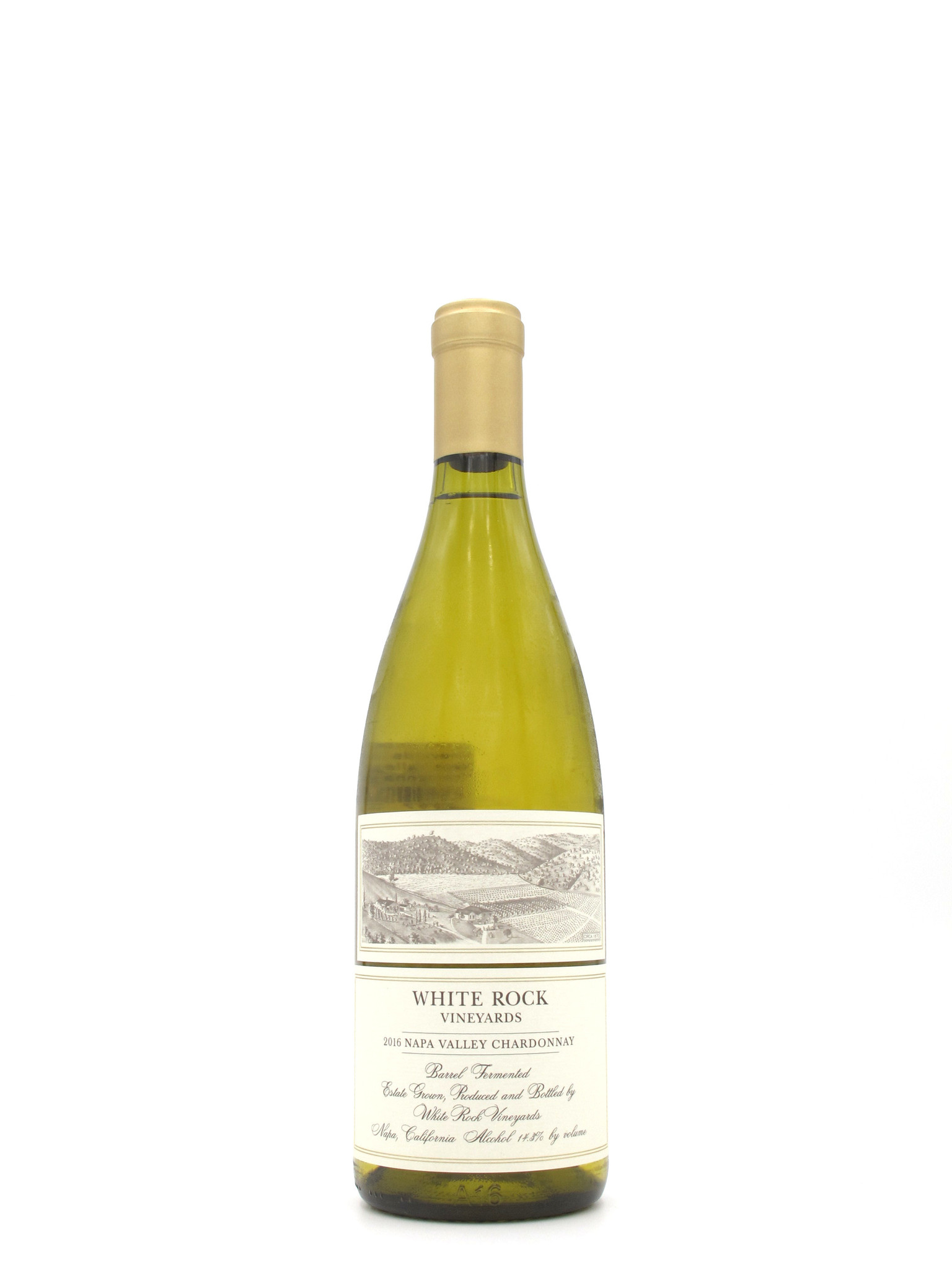 White Rock Vineyards 2016 White Rock Vineyards Estate Napa Valley Chardonnay 750ml