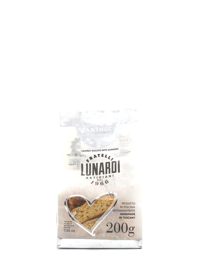Fraetelli Lunardi Almond Biscotti 200gr
