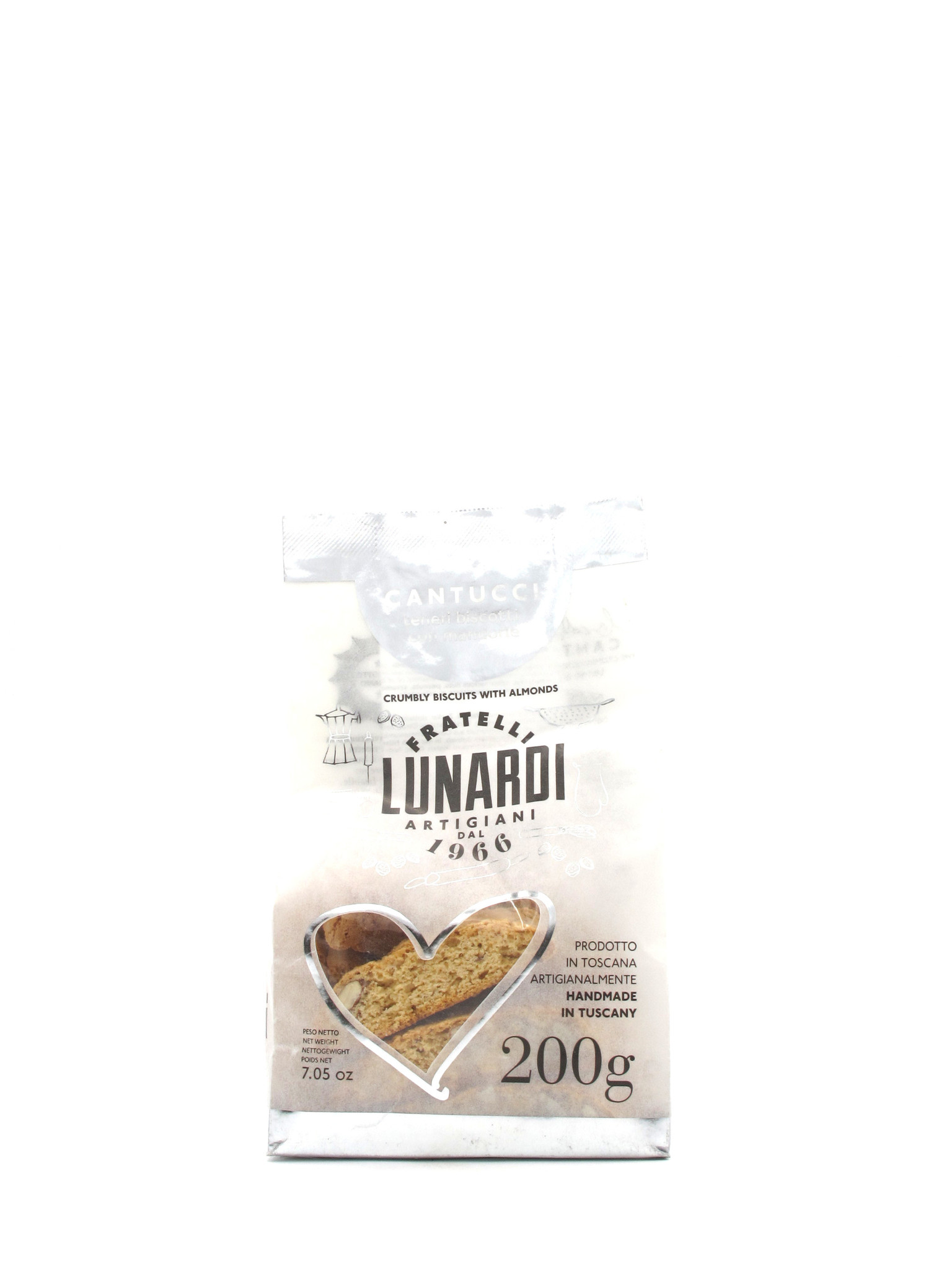 Lunardi Fraetelli Lunardi Almond Biscotti 200gr