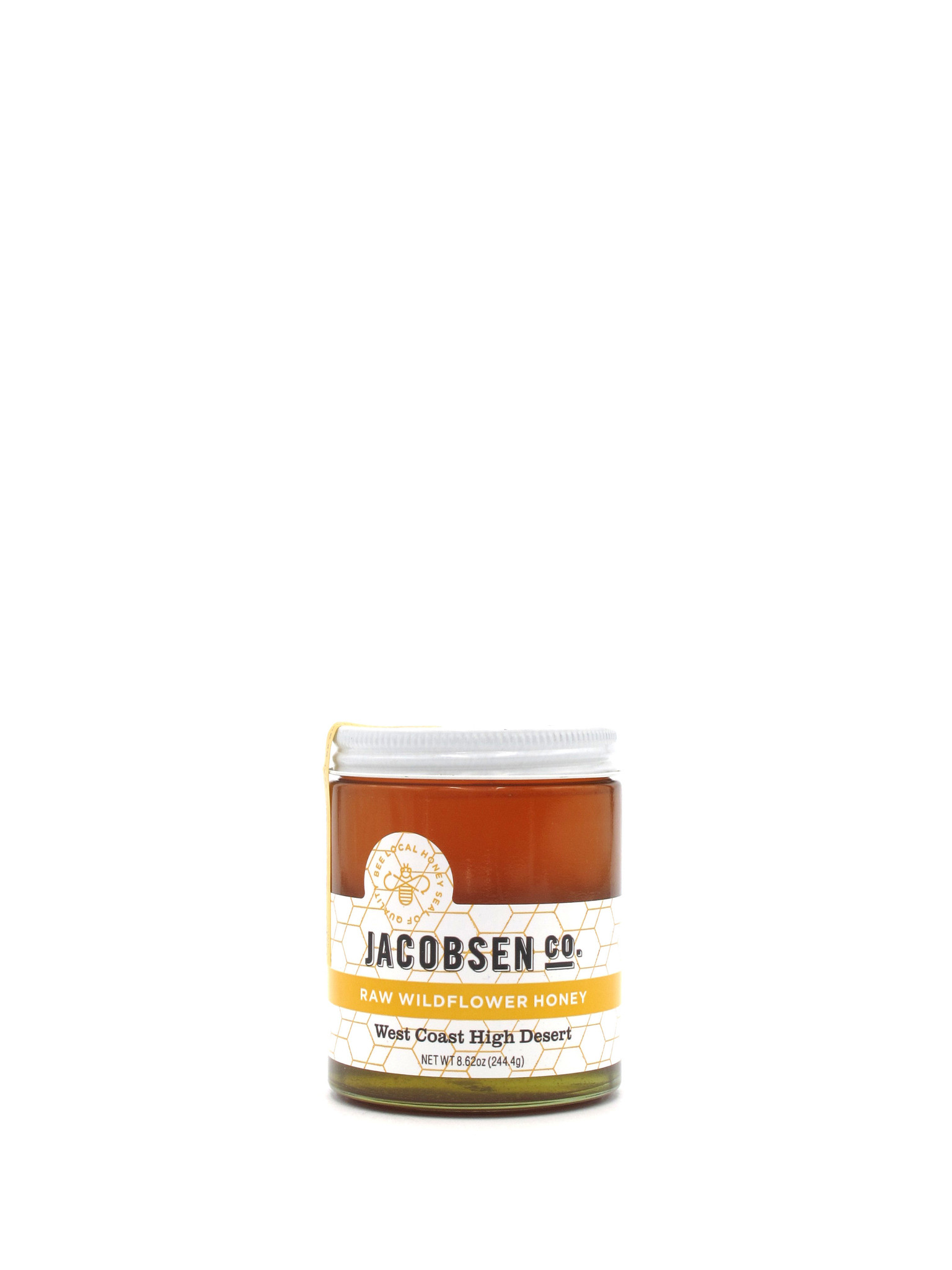 Jacobsen Salt Co. Jacobsen Raw Wildflower Honey 8.6oz