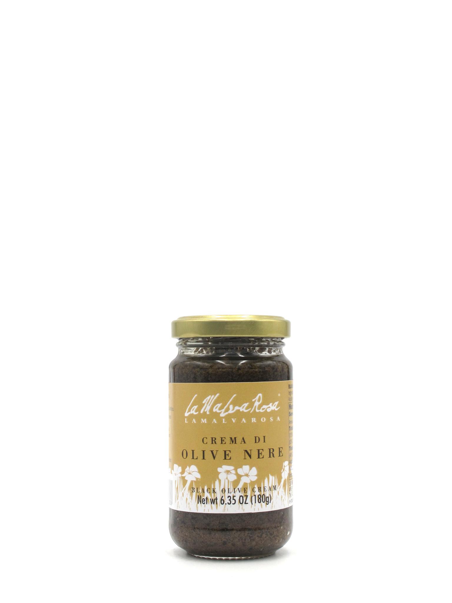 La Malva Rosa La Malva Rosa Crema di Olive Nere 180g