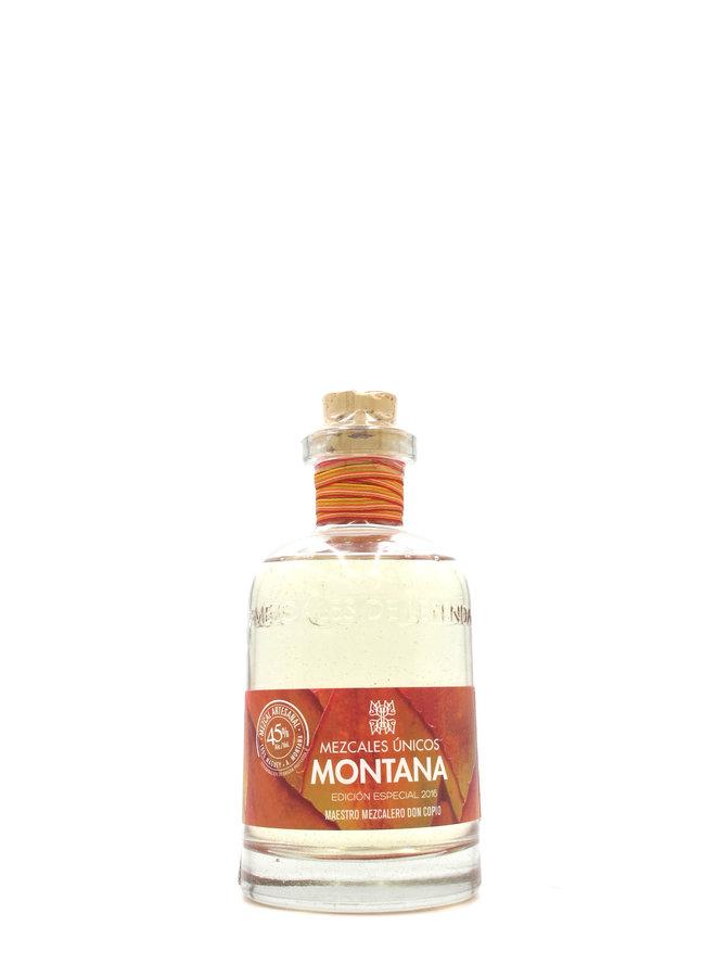 Mezcales de Leyenda Únicos Mezcal Montana 750ml