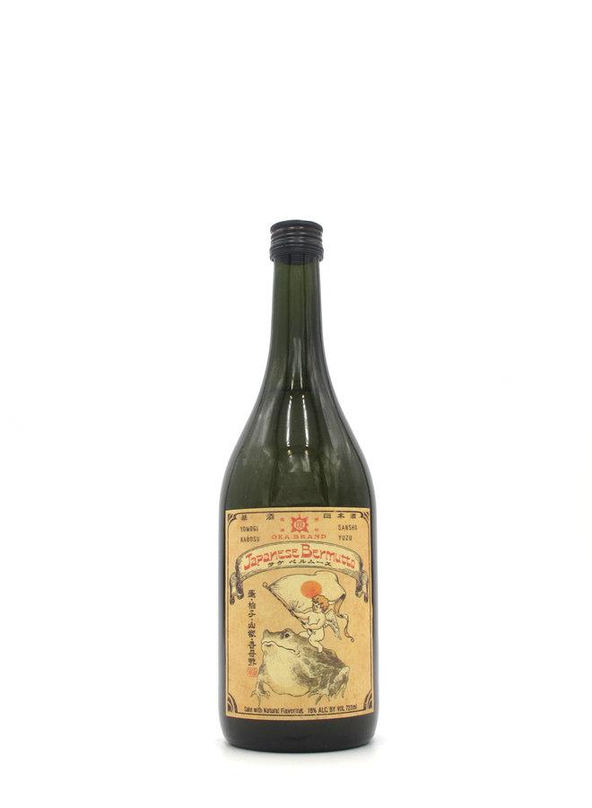 Oka Kura Japanese Bermutto Sake Vermouth 720mL