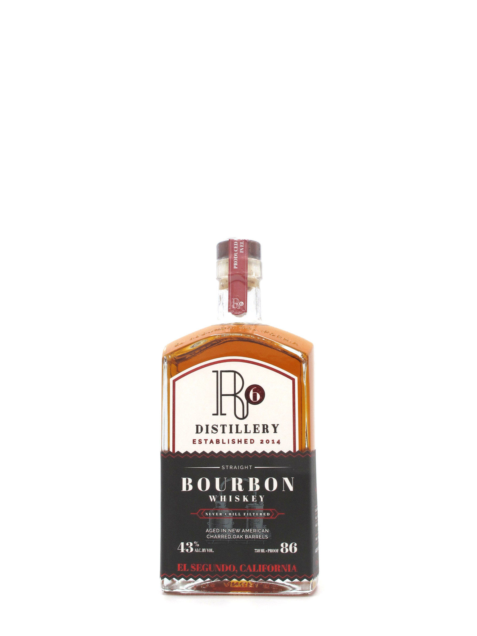 R6 Distillery R6 Distillery Bourbon 750ml