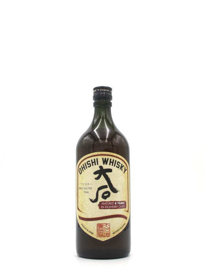 Ohishi Whisky Sherry Cask 8yr 750mL
