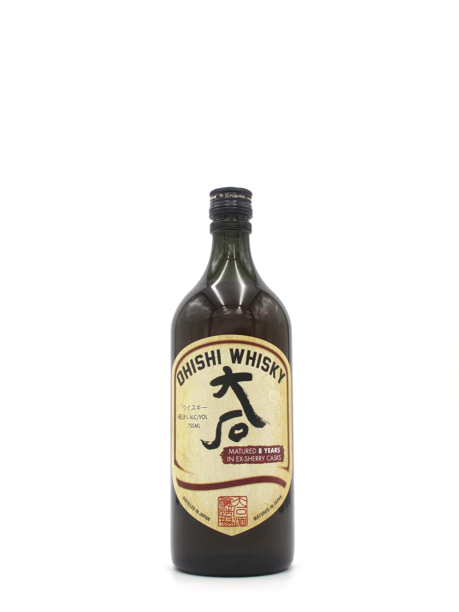 Ohishi Distillery Ohishi Whisky Sherry Cask 8yr 750mL