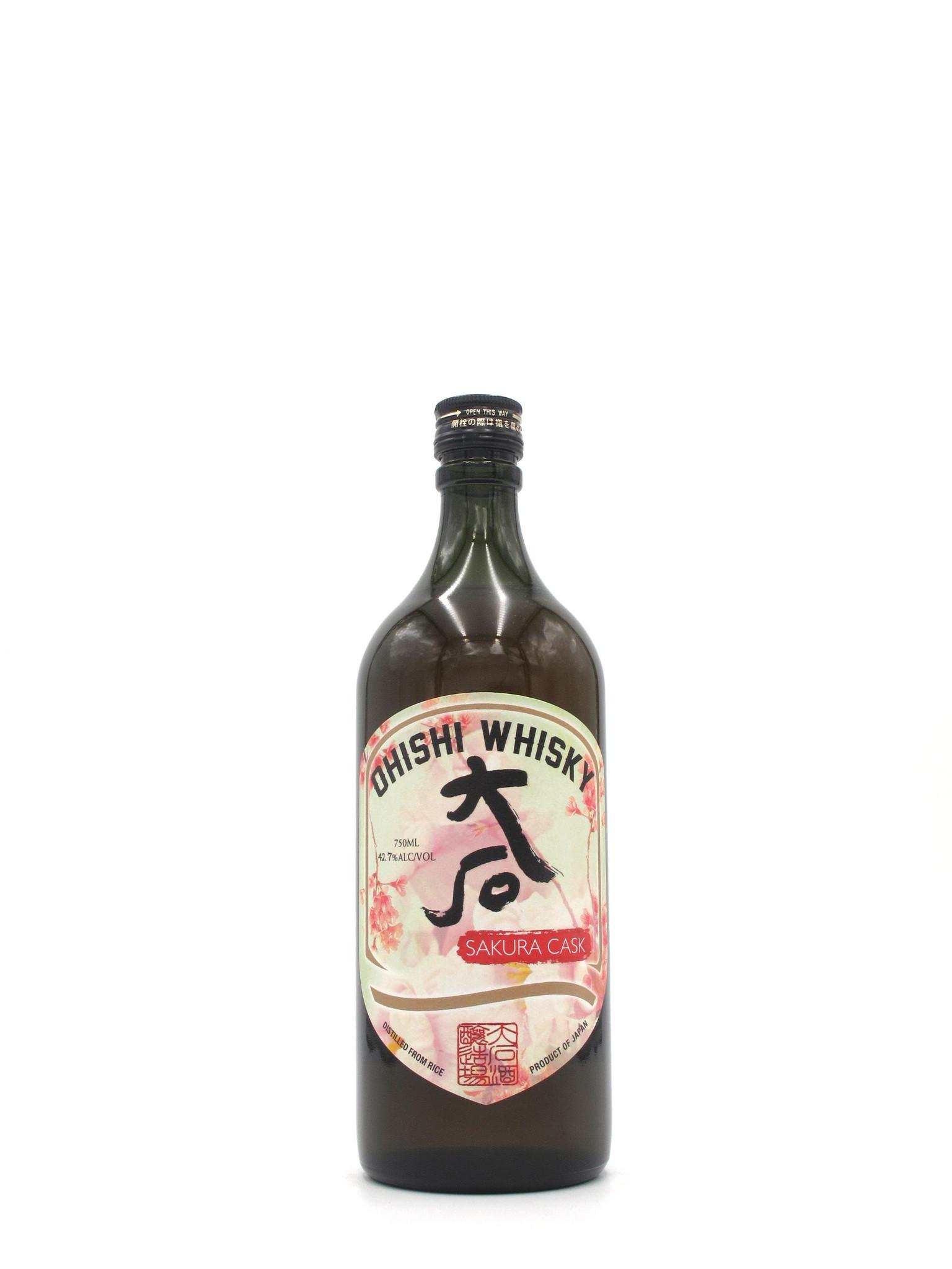 Ohishi Distillery Ohishi Sakura Cask Whisky 750ml