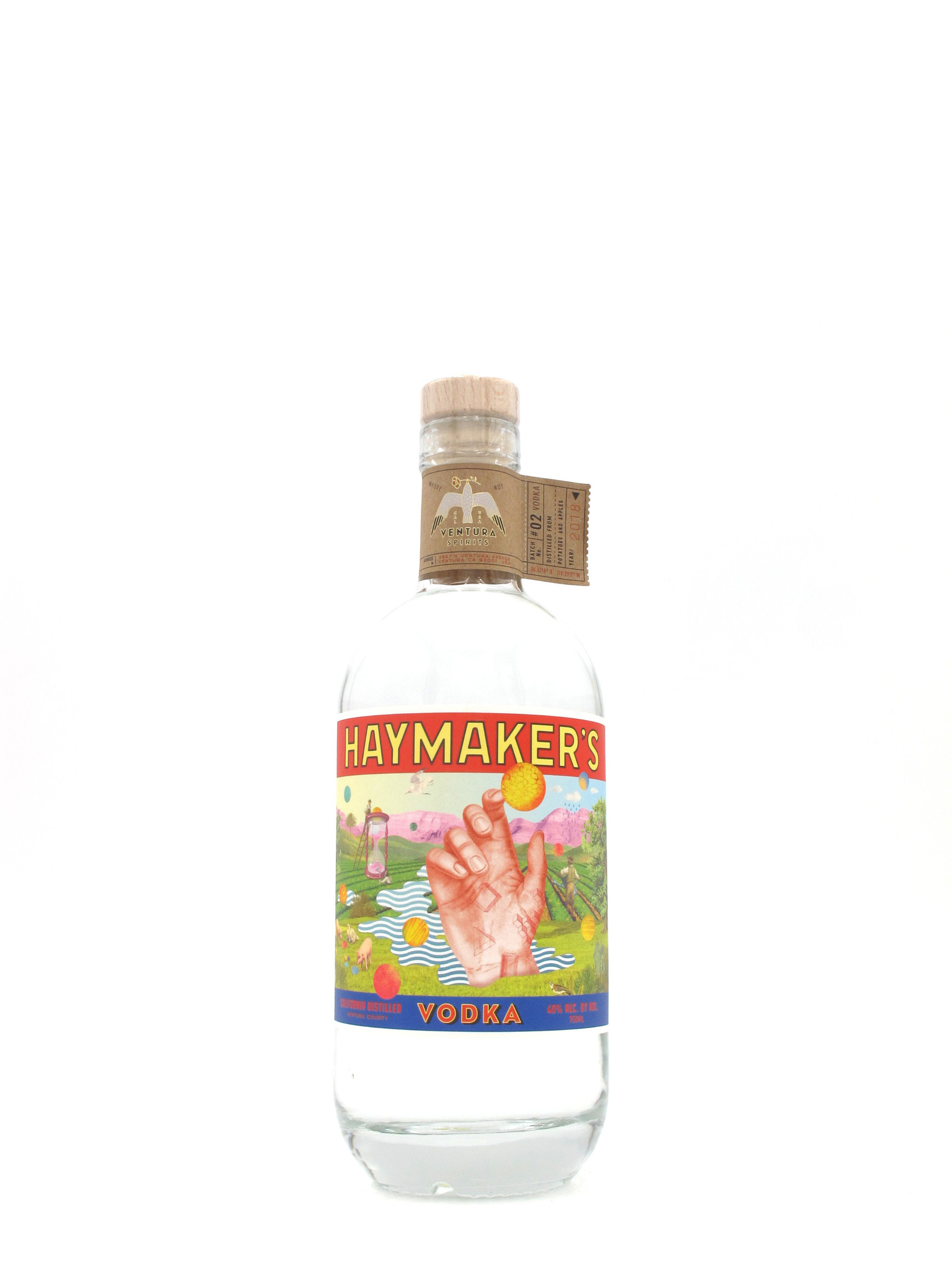 Ventura Spirits Ventura Spirits Haymaker's Vodka 750mL