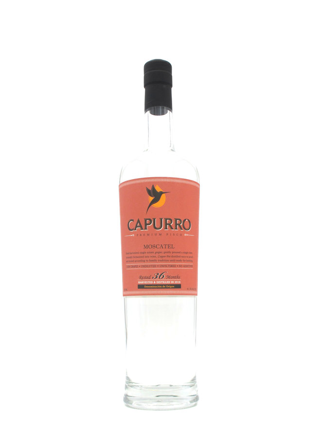 Capurro Pisco Moscatel 750ml