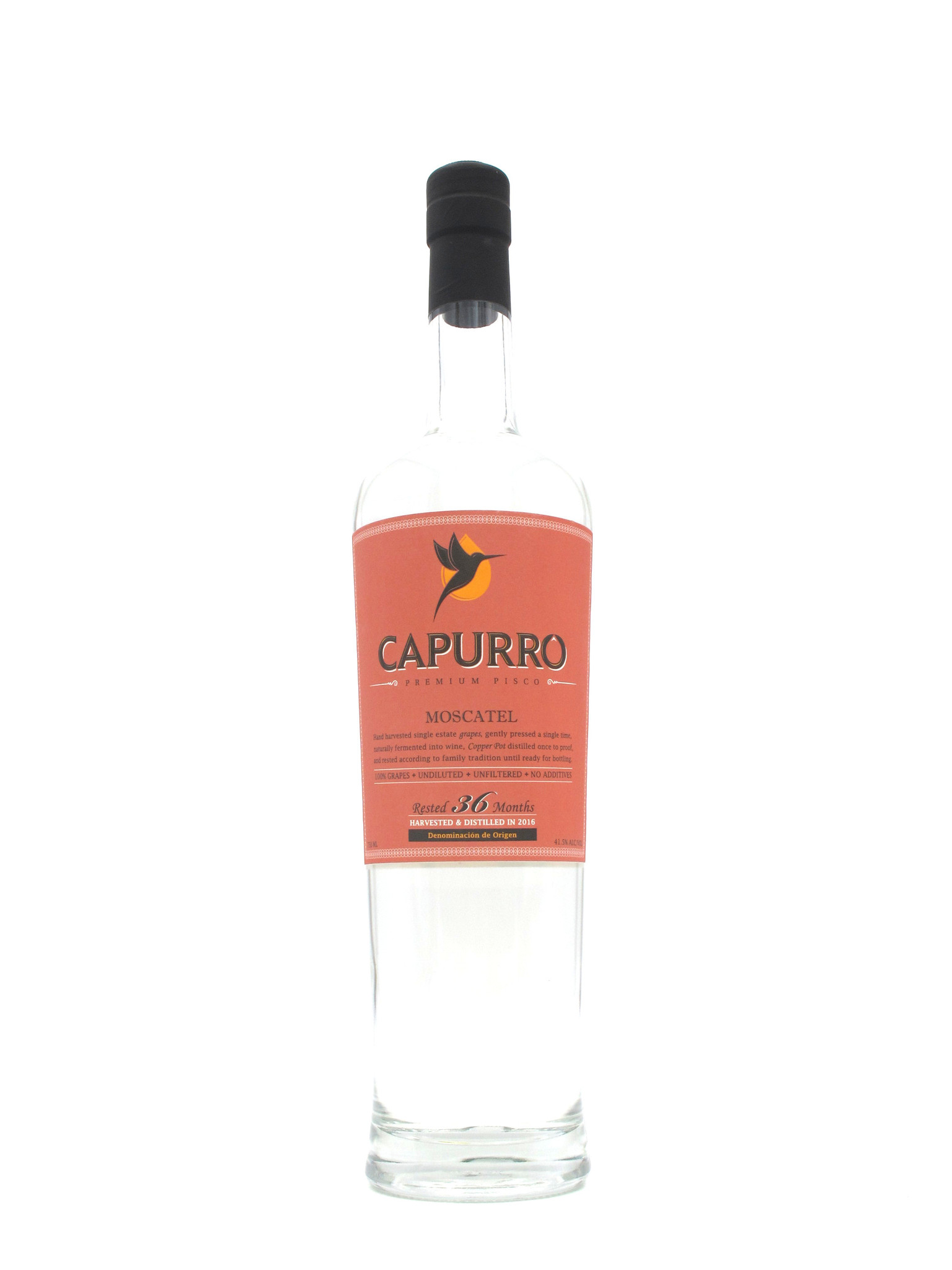 Capurro Pisco Moscatel 750ml