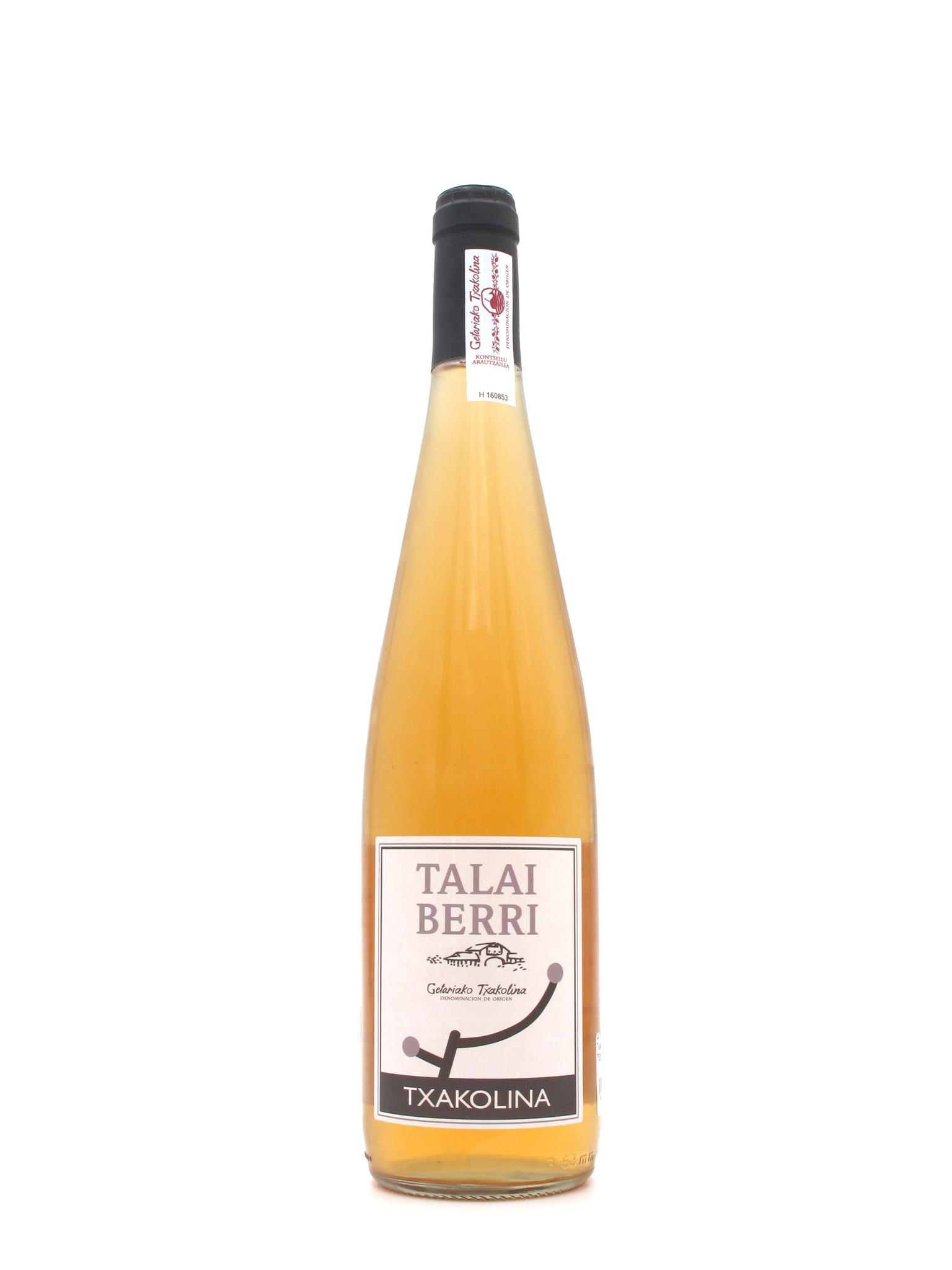 Talai Berri 2018 Talai Berri Txakolina Rosé 750ml