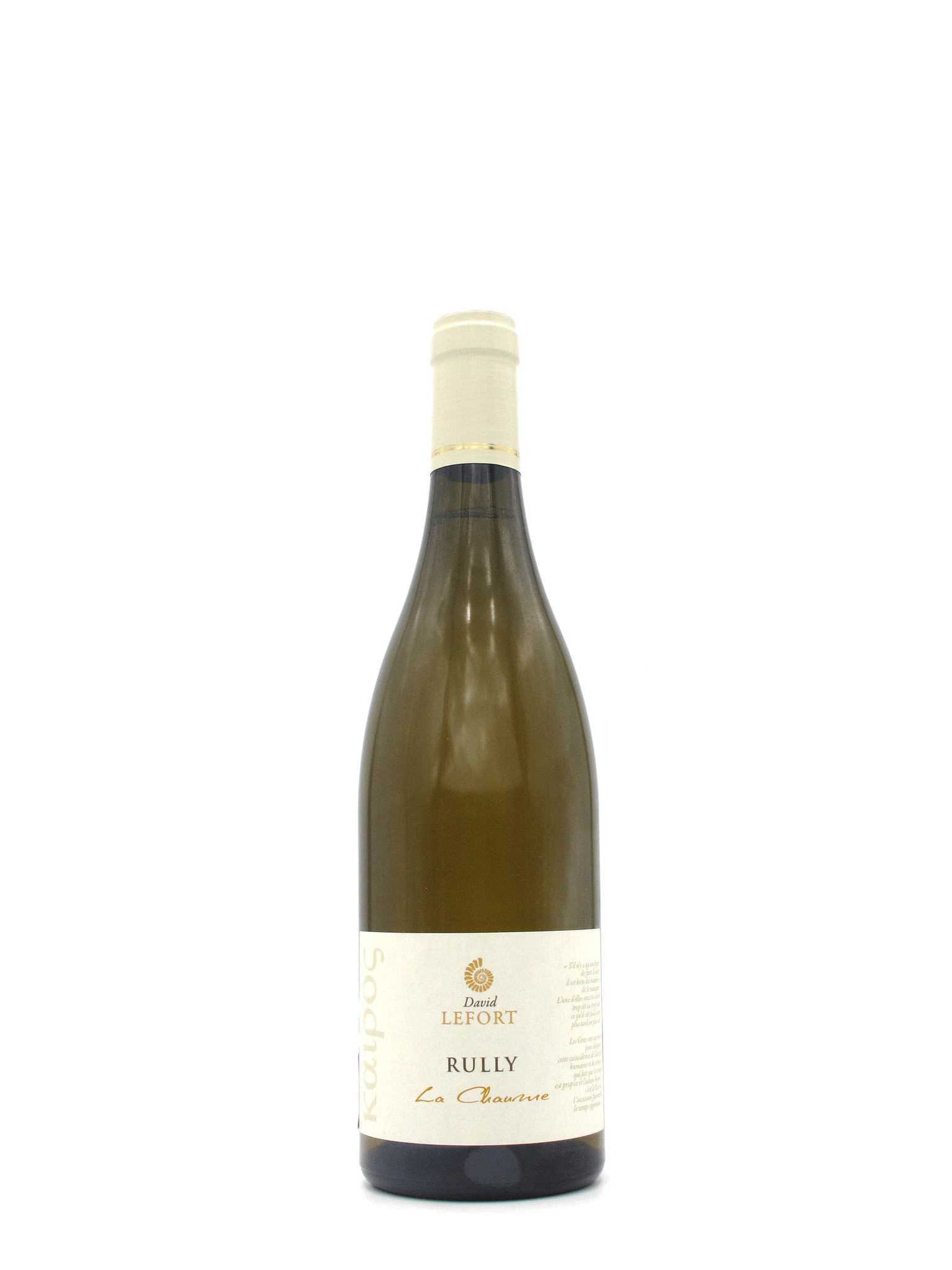 David Lefort 2016 David Lefort 'La Chaume' Rully 750ml