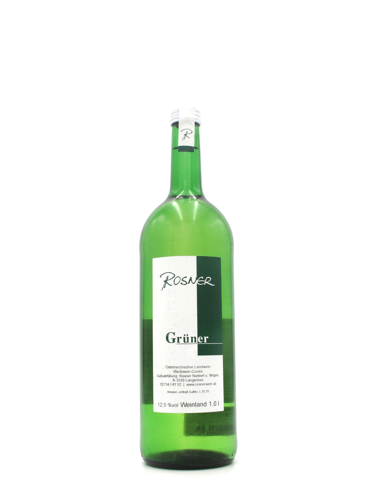 Rosner NV Rosner Gruner-Veltliner Landwein 1L