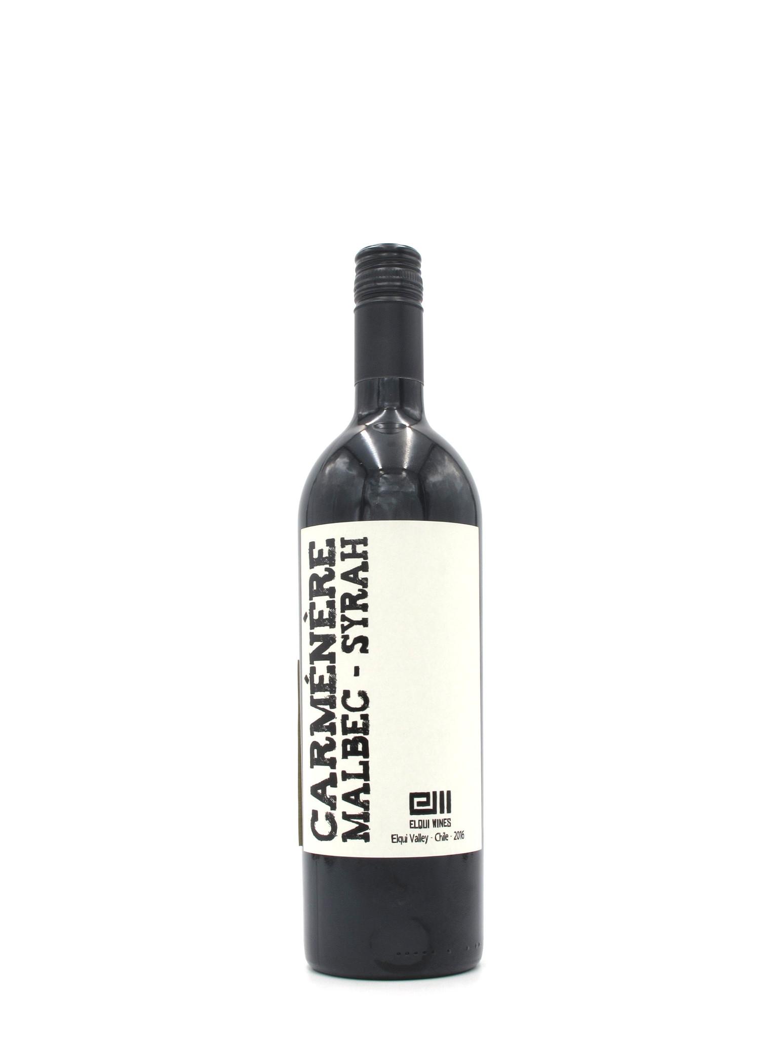 Elqui 2016 Elqui Wines Carménère Syrah Malbec 750ml