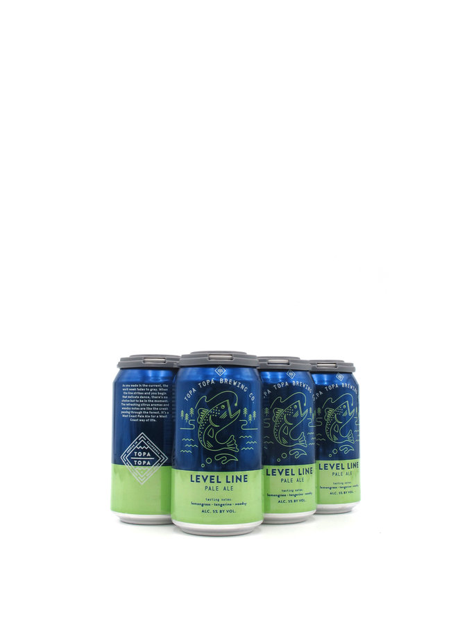 Topa Topa Brewing Co. Level Line Pale Ale 12oz 6pk