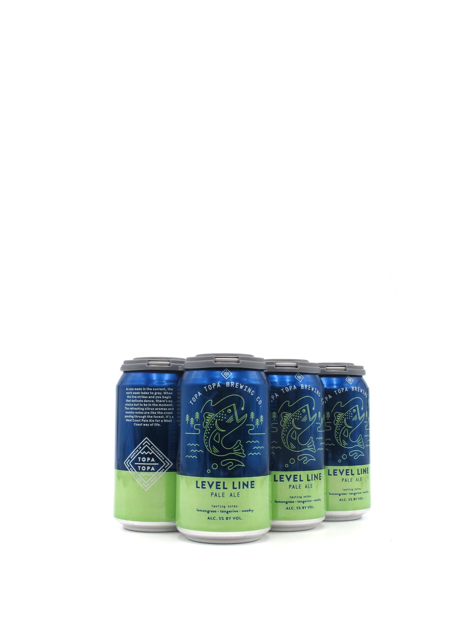 Topa Topa Brewing Co. Topa Topa Brewing Co. Level Line Pale Ale 12oz 6pk
