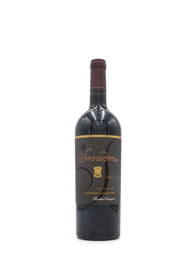 2017 Snowden Brother's Vineyard Cabernet Sauvignon 750ml