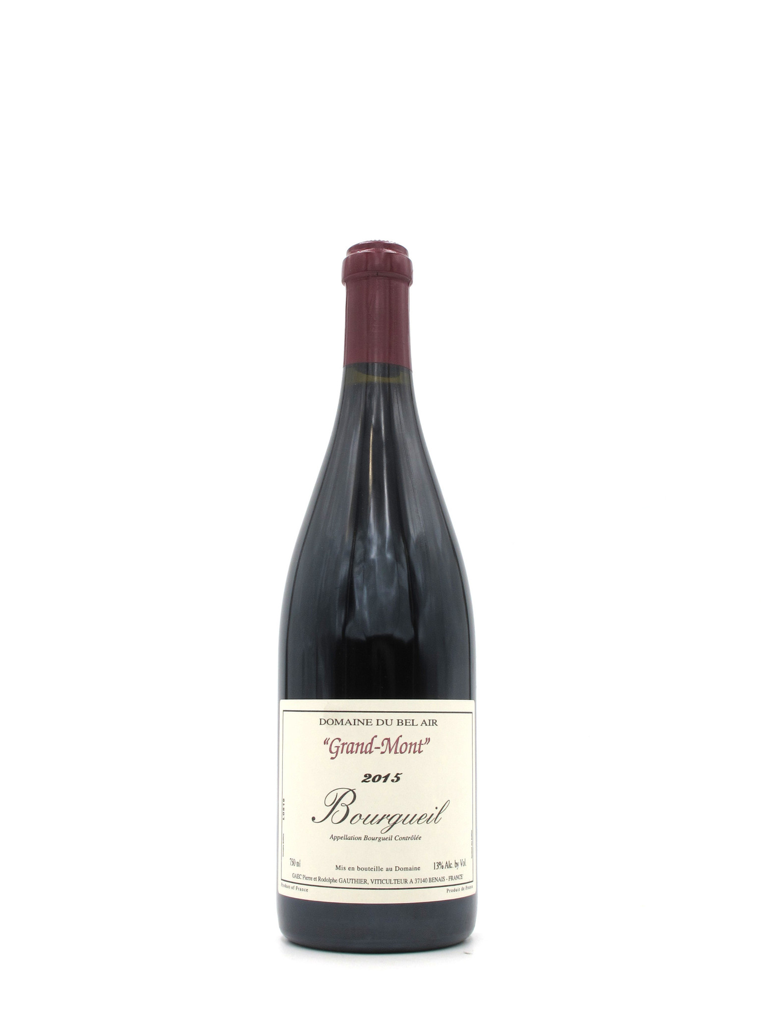Domaine du Bel Air 2015 Domaine du Bel Air 'Grand Mont' Bourgueil 750ml