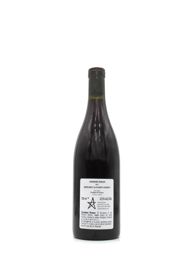 2017 Domaine Derain Mercurey Rouge La Plante Chassey 750ml