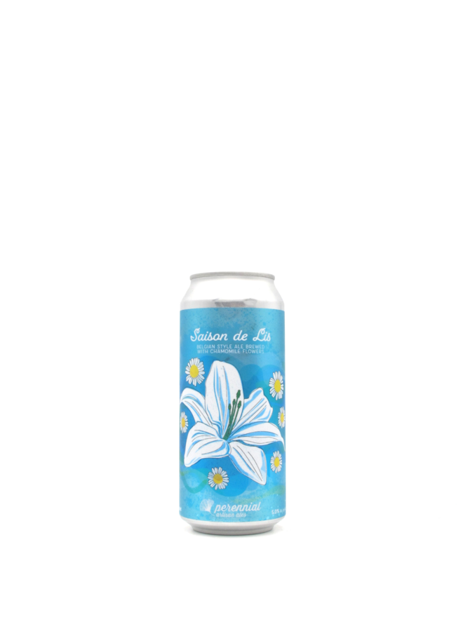 Perennial Artisan Ales Saison de Lis with Chamomile 16oz