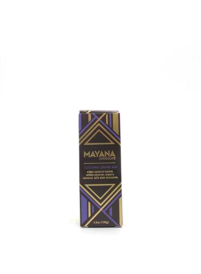 Mayana Chocolate Coconut Dream Bar 3.5oz