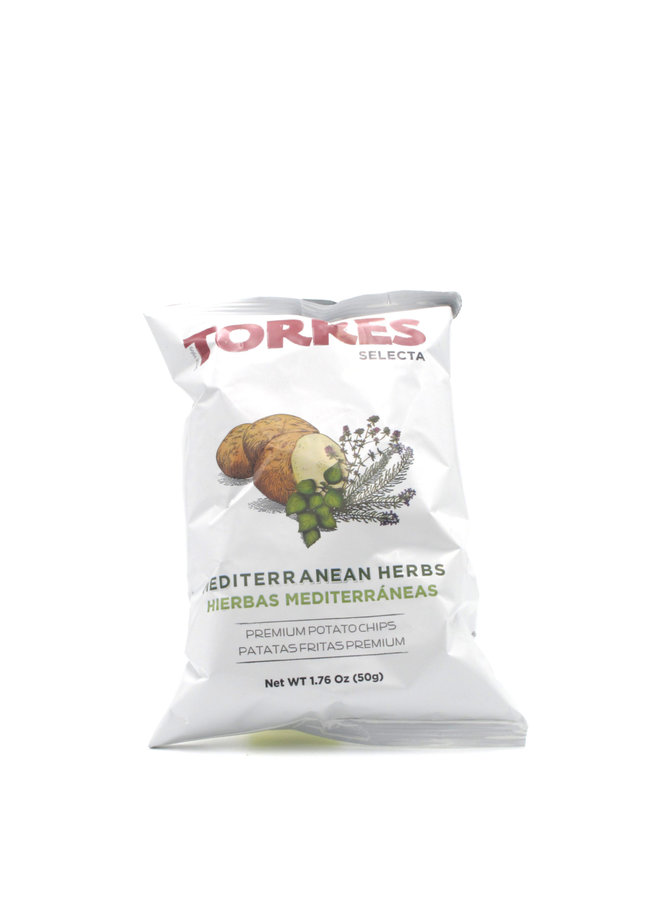 Torres Mediterranean Herb Potato Chips 40g