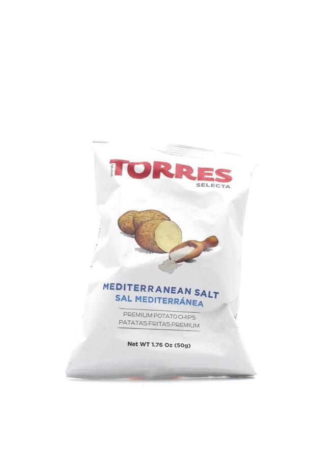 Torres Mediterranean Salt Potato Chips 40g