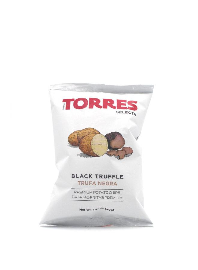 Torres Potato Chips Black Truffle 40g