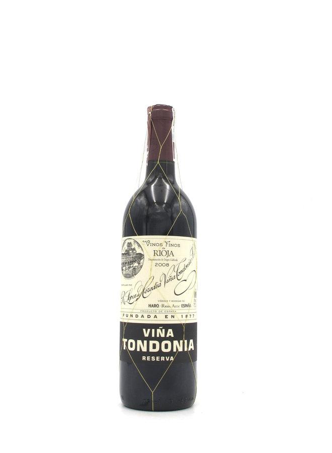 2008 R. Lopez de Heredia Viña Tondonia Reserva 750ml