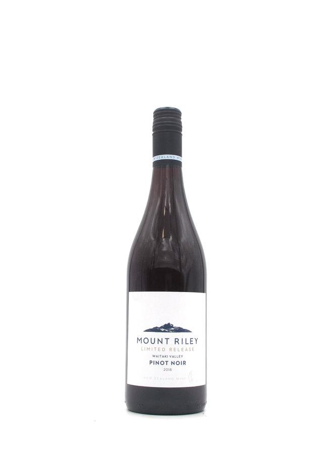 2018 Mount Riley Limited Release Pinot Noir Waitaki Valley 750mL
