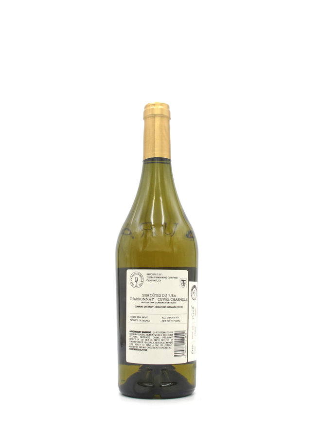 2018 Guillaume Overnoy 'Cuvée Chamille' Cotes du Jura Chardonnay 750ml