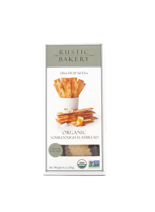 Rustic Bakery Olive Oil & Sel Gris Flatbread Cracker 6oz