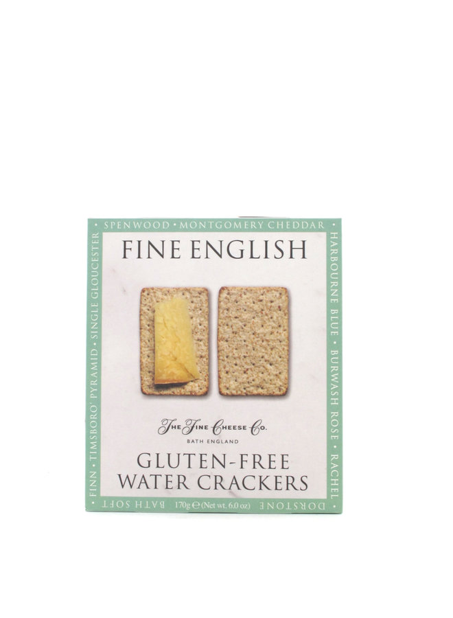 Fine Cheese Co. Gluten Free Water Crackers 5.3oz