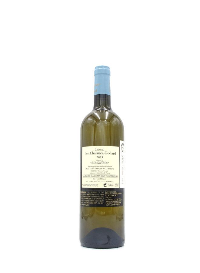 2019 Château Les Charmes-Godard Francs Côtes de Bordeaux Blanc 750ml