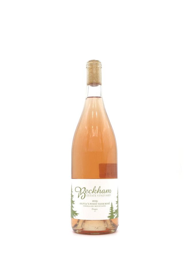 2019 Beckham Olivia's Pinot Noir Rosé 750ml