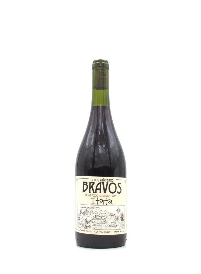 2019 Vinateros Bravos Cinsault Granitico 750ml