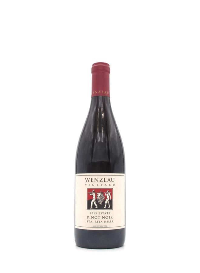 2015 Wenzlau Vineyard Estate Sta. Rita Hills Pinot Noir 750ml