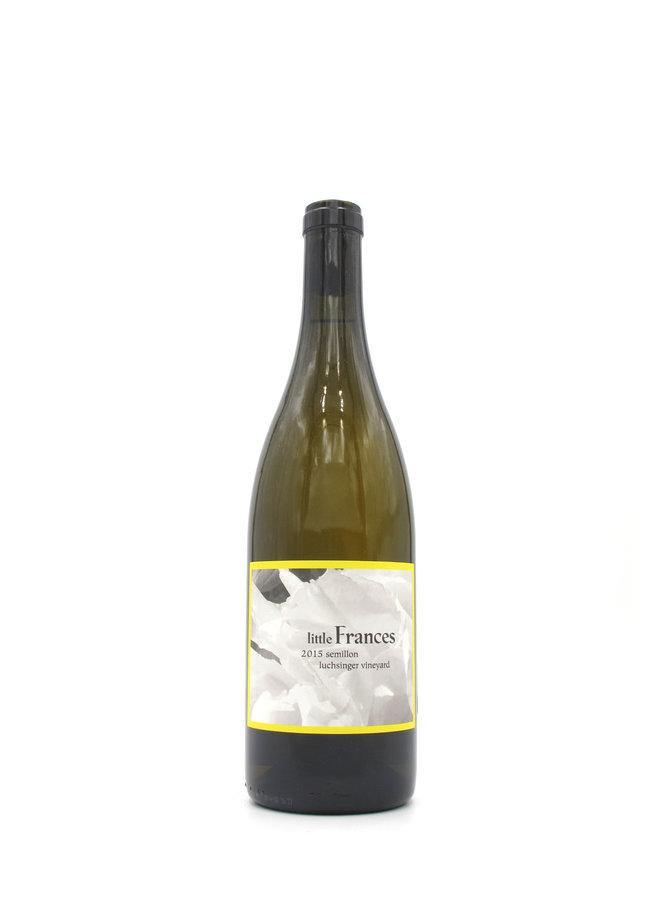 2015 Little Frances Luchsinger Vineyard Semillon 750ml